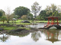 リリウオカラニ公園/Liliuokalani Gardens Park