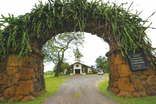 リリウオカラニ・プロテスタント教会/Liliuokalani Protestant Church