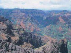 ワイメア渓谷展望台/Waimea Canyon Lookout