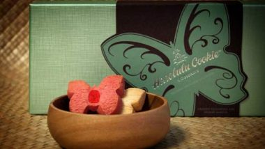ニーマン・マーカス限定のバタフライ型クッキーコレクションを販売開始。ホノルル・クッキー・カンパニーとのコラボ商品!