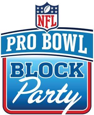 1月29日(土)、ワイキキで「NFLプロボウル2011公式ブロックパーティ」開催!