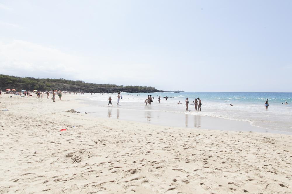 ハプナ・ビーチ・パーク/Hapuna Beach State Park