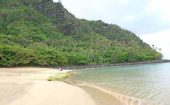 ケエビーチ/Ke'e Beach