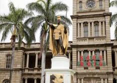 カメハメハ大王像/King Kamehameha Statue