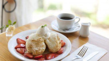 日本人好みの可愛らしいカフェ「クリームポット」でいただく絶品スフレパンケーキ