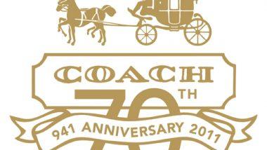 コーチ70周年記念、スペシャルイベント開催