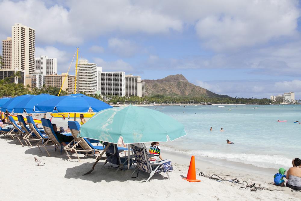 ワイキキビーチ/Waikiki Beach