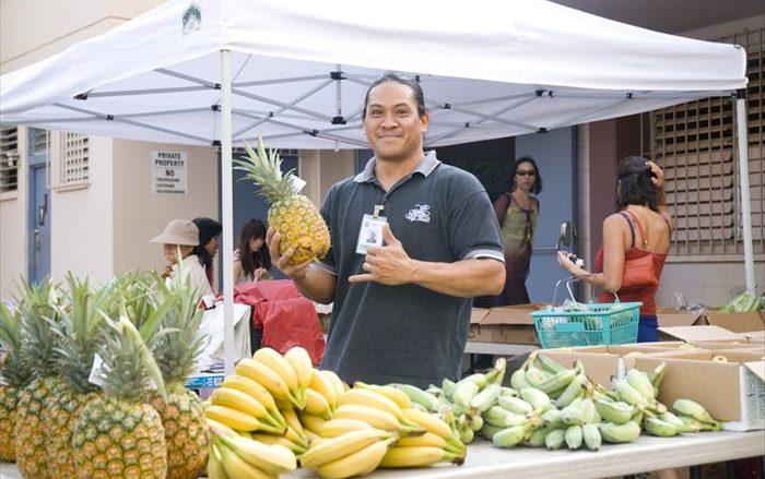 ワイキキ・コミュニティーセンター・ファーマーズ・マーケット/Waikiki Community Center's Farmer's market