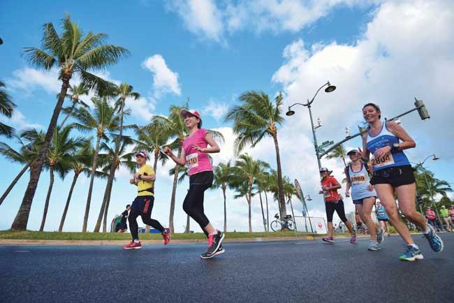 ハワイの注目スポーツイベント「ホノルルハーフマラソン・ハパルア2015」開催!