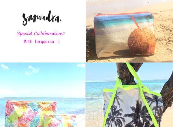 《ハワイ新着情報》 ワイキキの高感度なセレクトショップ「ターコイズ」が人気バッグブランド「サムドラ」とコラボ!