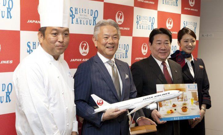 JALホノルル線の機内食を資生堂パーラーが手がける!