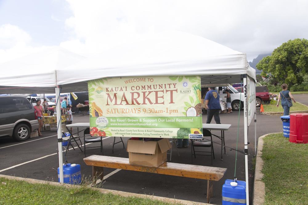 カウアイ・コミュニティ・マーケット/Kauai Community Market