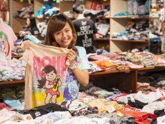 店内に1,000枚以上のTシャツがあふれる「88tees(エイティエイティーズ)」