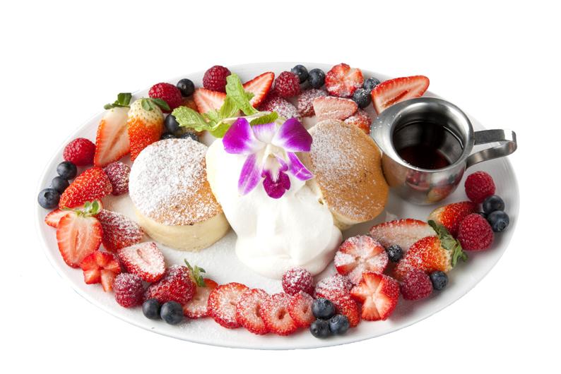 ハワイのベリーベリーパンケーキ