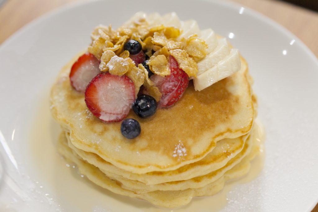 ハワイの「ミルクとシリアル パンケーキ」