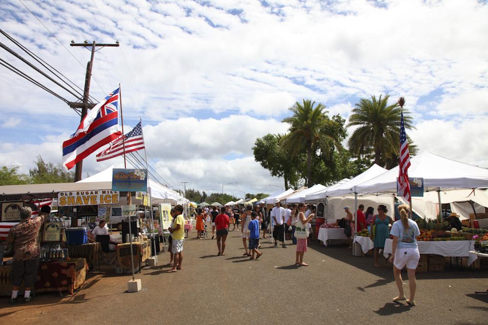 ハレイワ・ファーマーズマーケット/Haleiwa Farmers Market