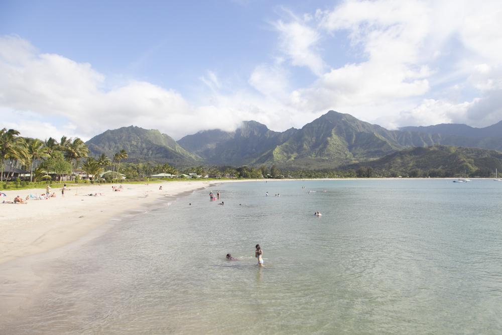 ハナレイ・ビーチ・パーク/Hanalei Beach Park