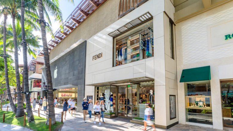 カラカウア通りにあるFENDIがリニューアルオープン !