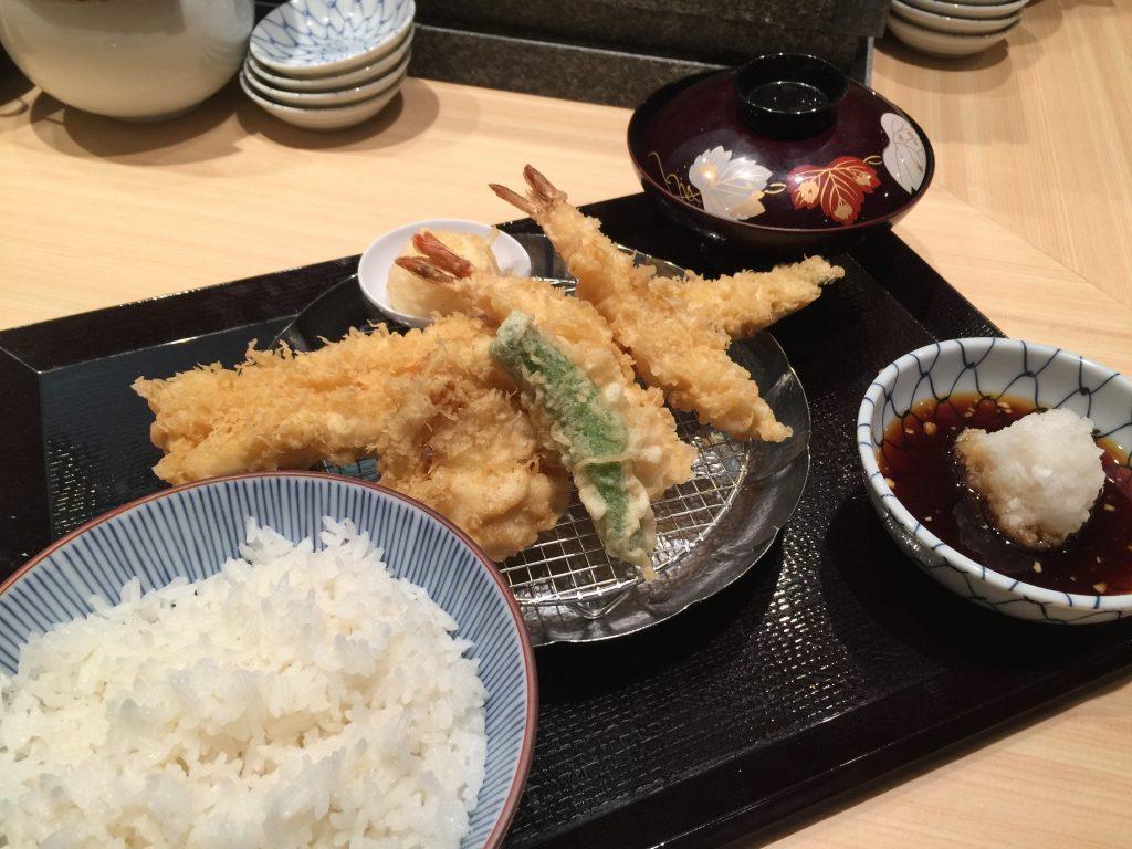 天ぷらめし/松