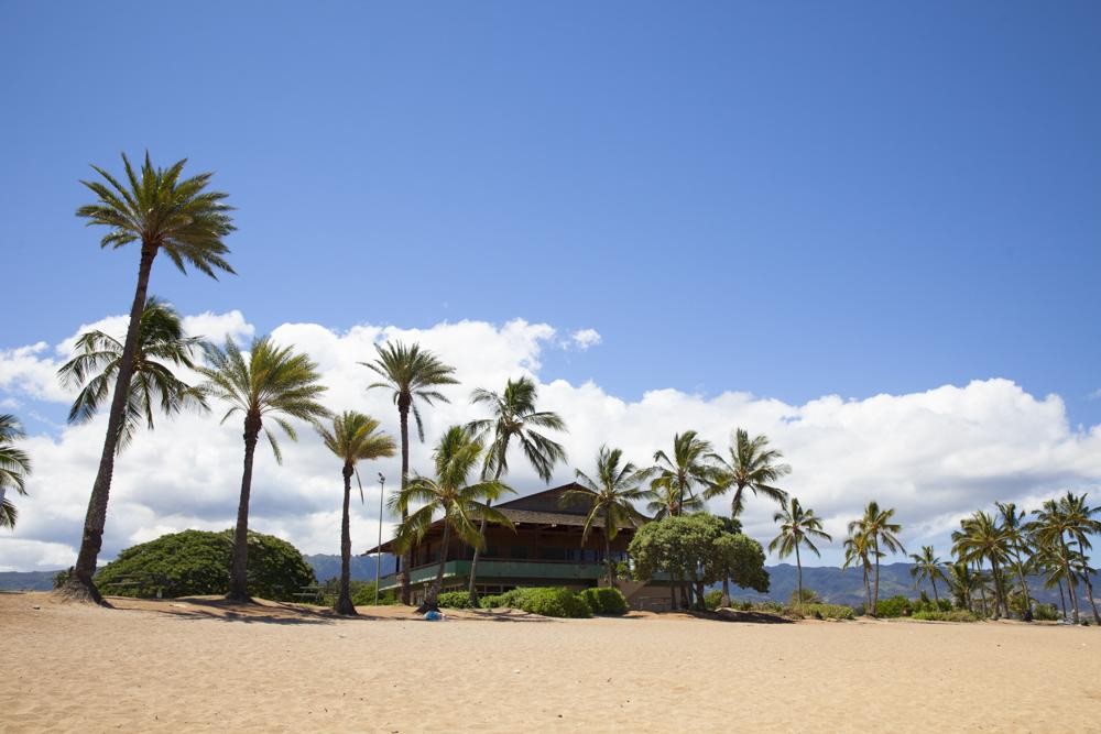 ハレイワ・アリイ・ビーチパーク/Haleiwa Ali'i Beach Park