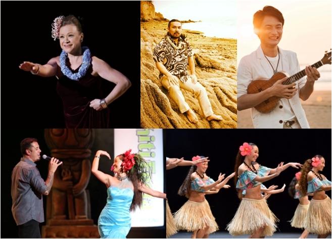国内外で活躍するアーティストのハワイアンミュージックライブや、フラ&タヒチアンダンスショーを毎日開催