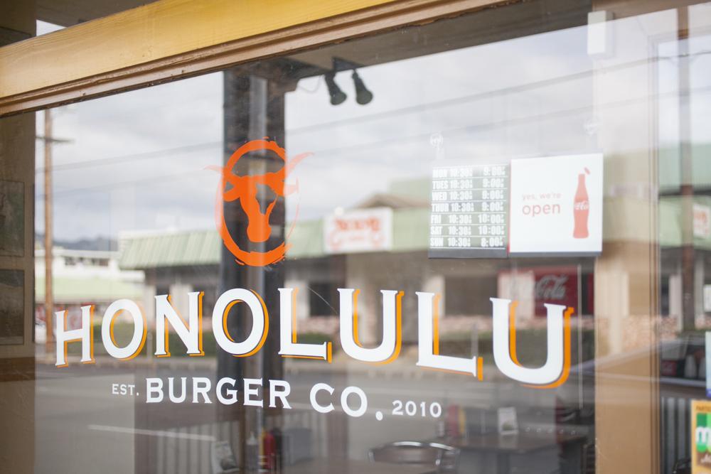 Honolulu Burger Company/ホノルル・バーガーズ・カンパニー