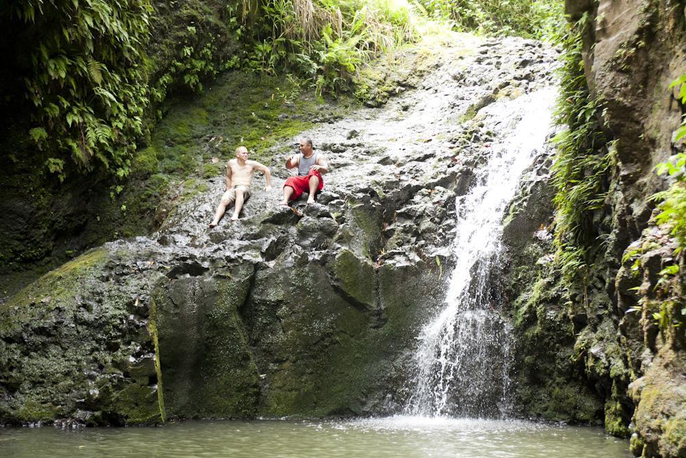マウナウィリ滝 マウナウィリフォールズ・トレイル