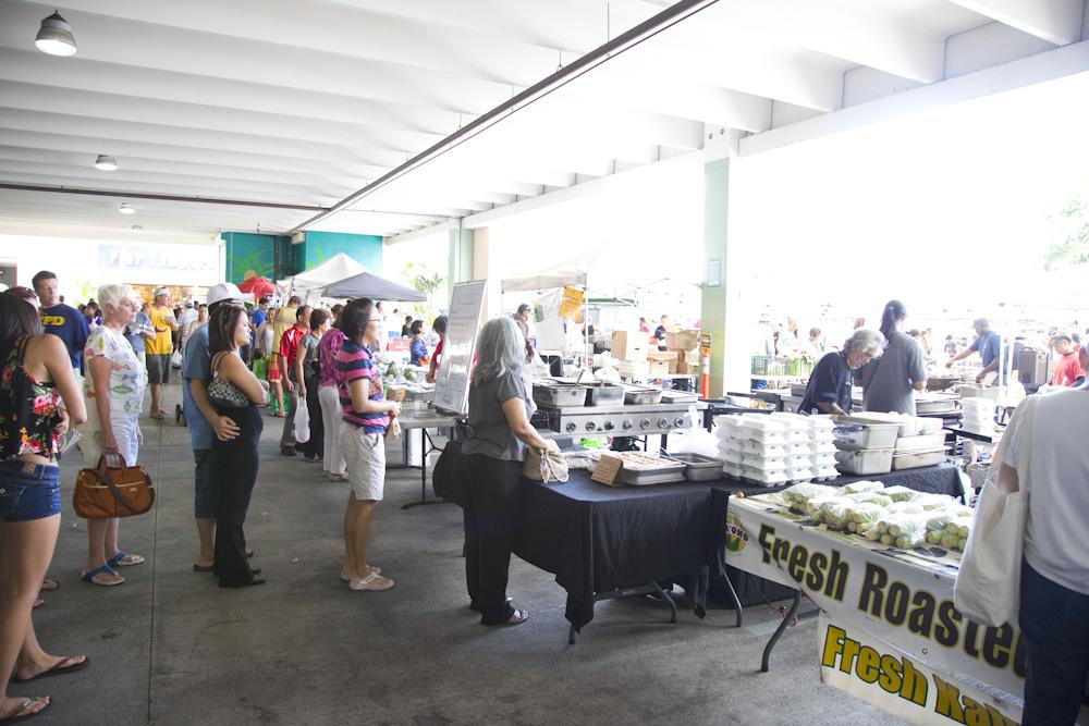Kailua Town Farmers Market/カイルアタウン・ファーマーズ・マーケット