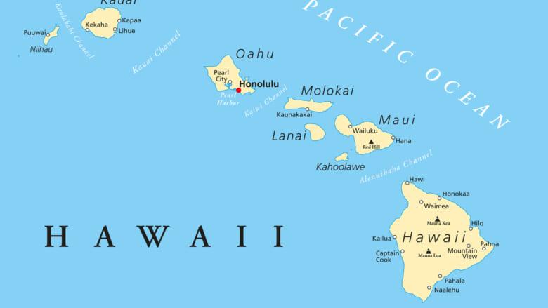 【2020年10月更新】島ごとの面積や人口は?ハワイの基礎データ