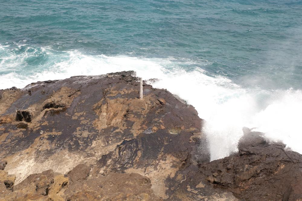 ハロナ潮吹き岩展望台/Halona Blowhole Lookout