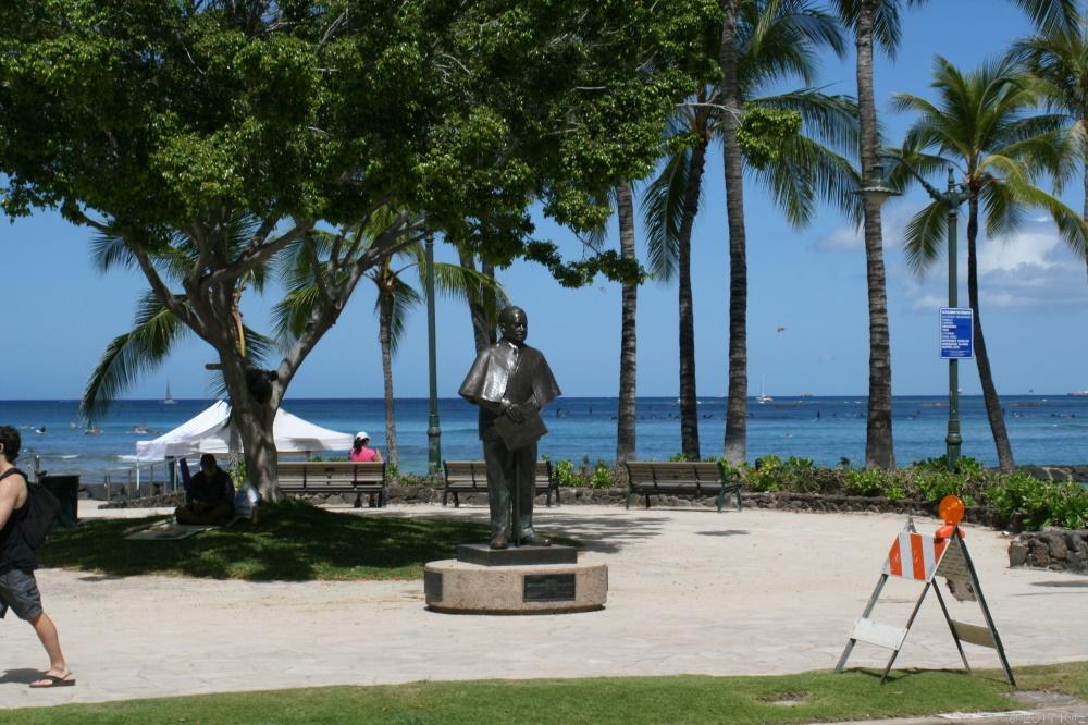 """プリンス・クヒオ/Statue """"Prince Jonah Kuhio Kalaniana 'ole"""""""