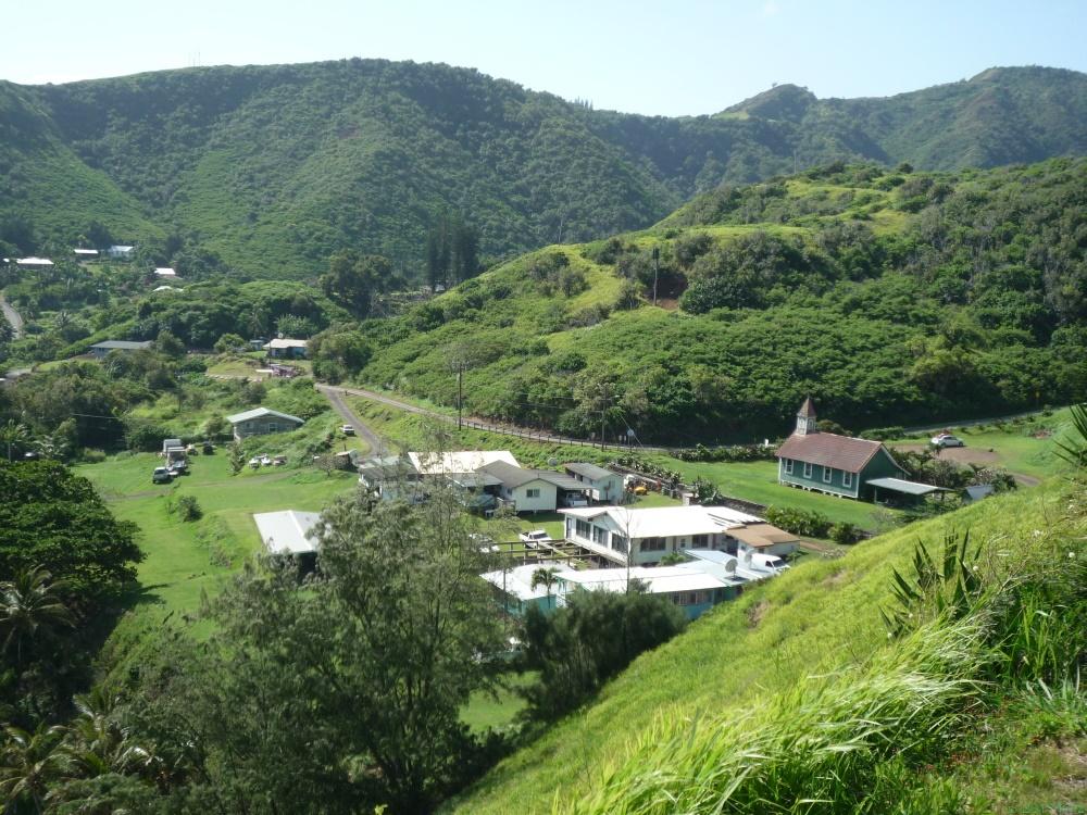 カハクロア村/Kahakuloa Village