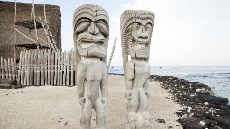 プウホヌア・オ・ホナウナウ国立歴史公園/Puuhonua o Honaunau National Historic Park