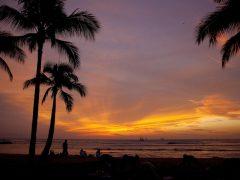 ハワイでサンセットを見ることができるスポット5選