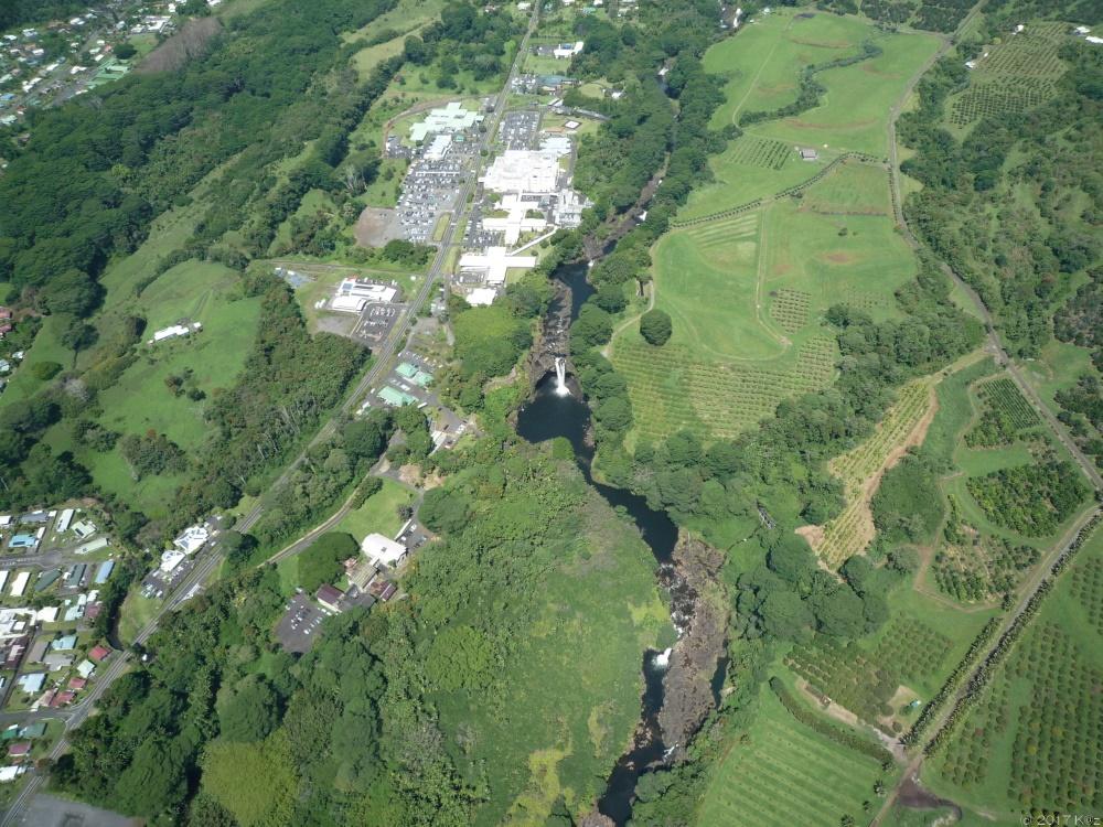 ヒロ発・火山と滝ツアー(パラダイス・ヘリコプター)/Volcanoes & Waterfalls Extreme (Paradise Helicopters)