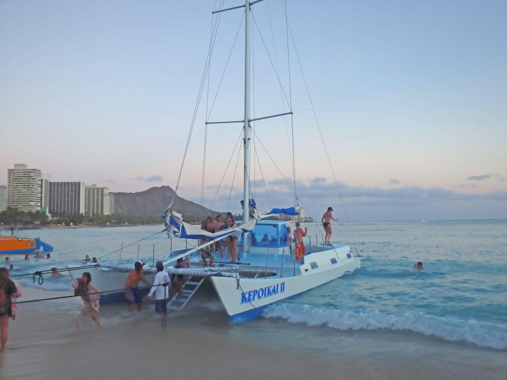 ケポイカイⅡ・カタマラン・サンセット・クルーズ/Kepoikai II Catamaran Sunset Cruise