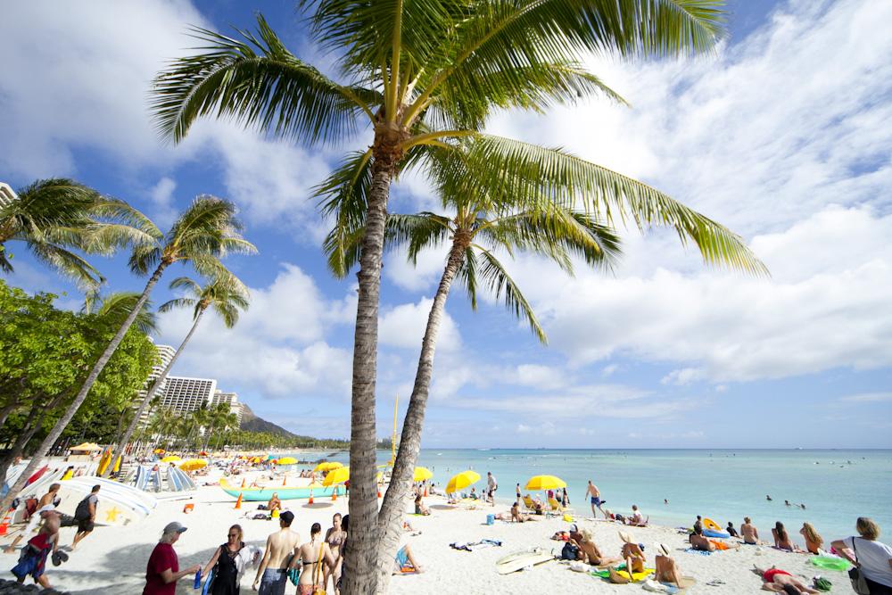 ワイキキ・ビーチ/Waikiki Beach