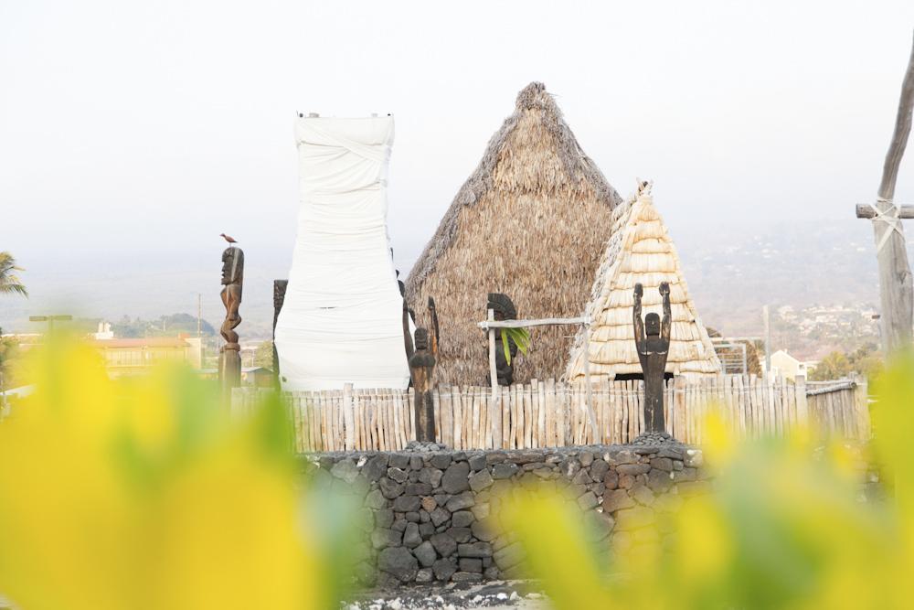 アフエナ・ヘイアウ/Ahuena Heiau (Kamakahonu National Historic Landmark)