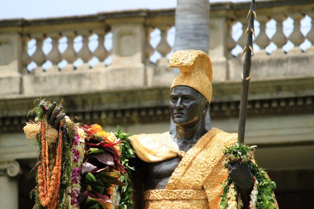 カメハメハ大王像/Statue of King Kamehameha