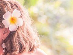 古くからハワイアンに愛されるプルメリアの香りでリラックス
