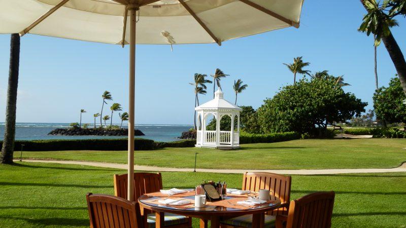 海を眺めるカハラホテルで、憧れの朝食ビュッフェを満喫♪