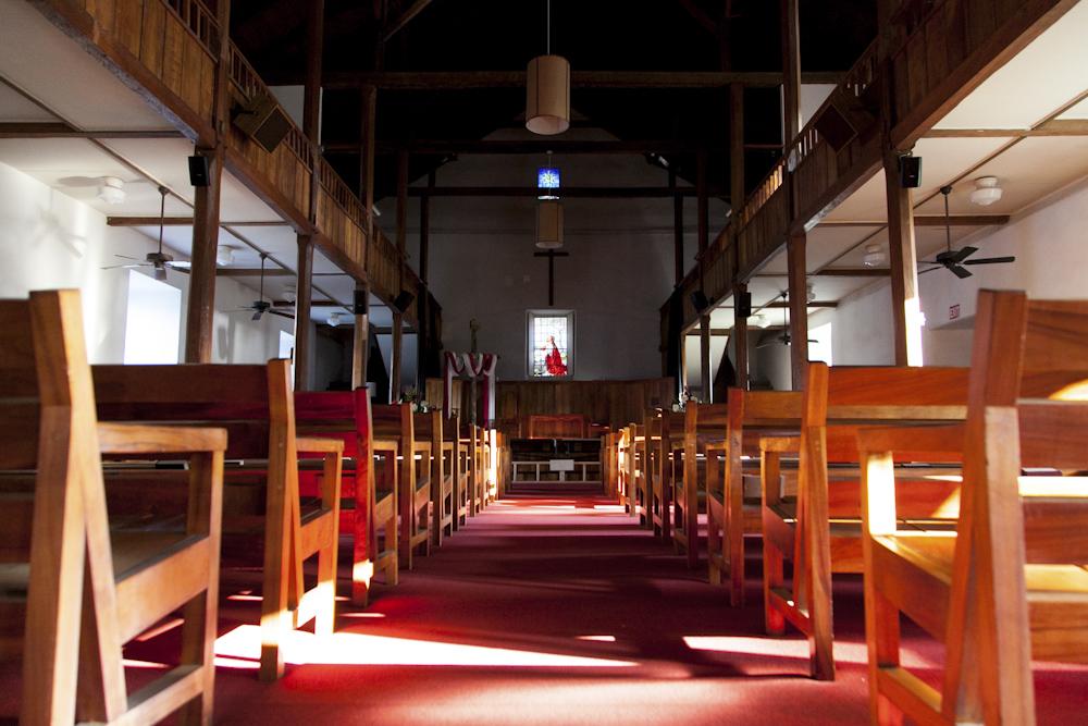 モクアイカウア・チャーチ/Mokuaikaua Congregational Church