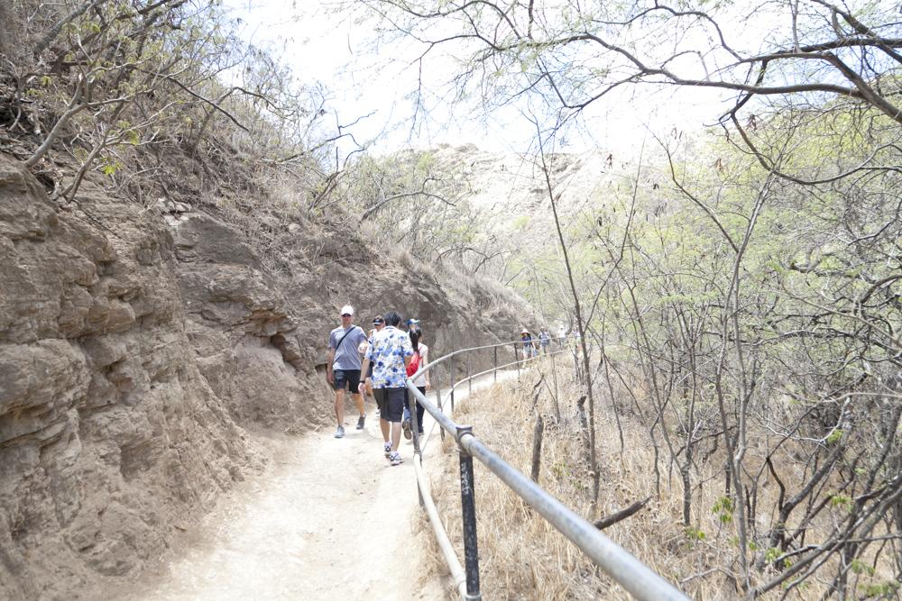 ダイヤモンドヘッド・トレイル/Diamond Head Trail