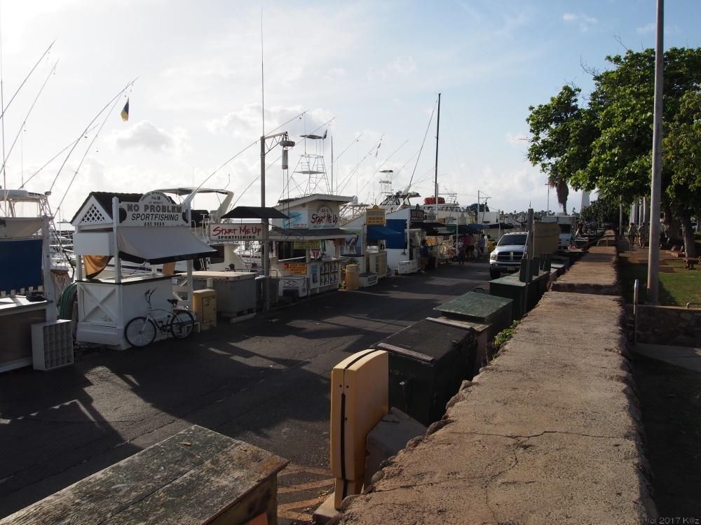 ラハイナ港/Lahaina Harbor