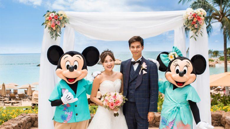 ハワイで憧れの『ディズニー婚』新しくなったミッキーやミニーの衣装が可愛いと話題に