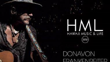 「ANA presents HML FESTIVAL」でドノヴァン・フランケンレイター単独公演が決定