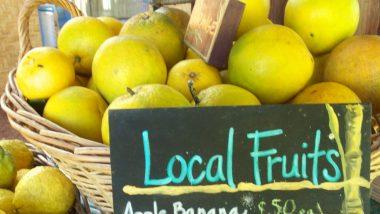 お庭で採れたフルーツをレッスンでシェア♪ハワイフラシスターに学ぶアットホームな文化