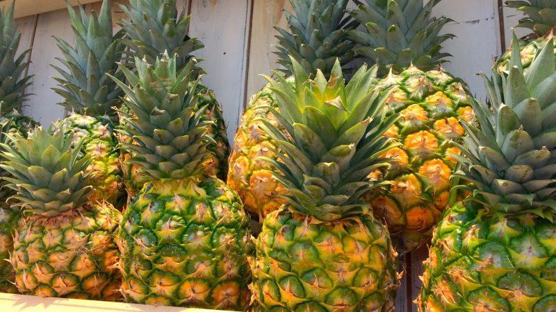 代謝も運気も上がる♪トロピカルフルーツの王様パイナップルの効果!