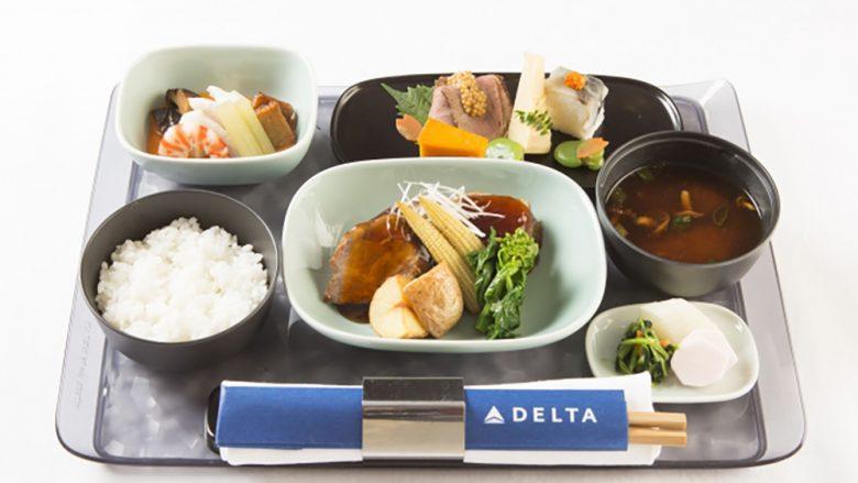 【デルタ航空】ミシュラン二つ星和食店考案・監修の「デルタ・ワン」和食メニューがスタート