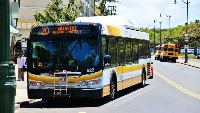 ハワイビギナーでも安心!The Busにのって観光スポットへ行ってみよう。